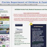 Florida Department of Children & Families Website