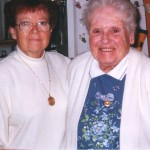 Sister Fran and Helen